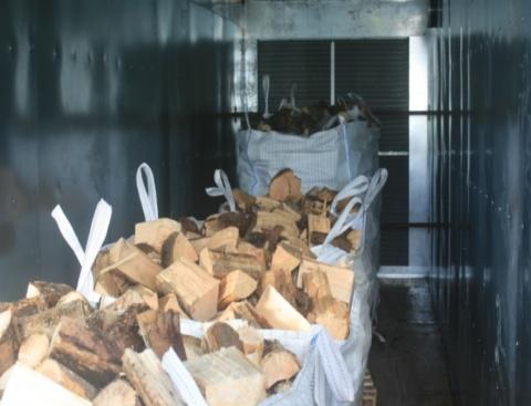 Biomass Log Dryer