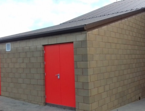 Dungarvan Scouts New Storage Facility